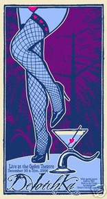 DEVOTCHKA - NEW YEARS EVE -  DENVER - POSTER - KUHN
