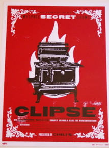 CLIPSE & COLD WAR KIDS W/ DIAMOND NIGHTS - 2006 - MYSPACE SECRET SHOW POSTER