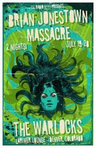 BRIAN JONESTOWN MASSACRE -2010 - LARIMER LOUNGE - THE WARLOCKS DENVER - GREALISH