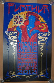 FURTHUR - WANG THEATER - BOSTON  2012 - PHIL LESH - RICHARD BIFFLE - TOUR POSTER