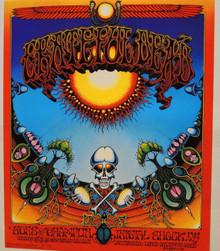 THE GRATEFUL DEAD - 1976 SECOND PRINT - EUROPEAN - AOXOMOXOA - RICK GRIFFIN -