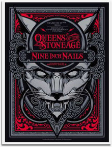 QUEENS OF THE STONE AGE - NINE INCH NAILS - 2014 - BRISBANE - JOSHUA SMITH