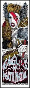 EAGLES OF DEATH METAL - 2014 - SOUNDWAVE - MELBOURNE -  RHYS COOPER- TOUR POSTER