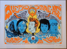 QUEENS OF THE STONE AGE -  FILLMORE - SIGNED - JERMAINE ROGERS -  HOMME