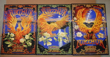 FURTHUR - NEW YEARS EVE 2012 - 3 POSTER SET - SAN FRANCISCO - A/P - TOUR POSTER