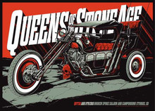 QUEENS OF THE STONE AGE - STURGIS - 2013 - KEN TAYLOR - HARLEY - TOUR POSTER