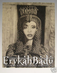ERYKAH BADU - WARFIELD - DONOVAN - 2009 - FIREHOUSE