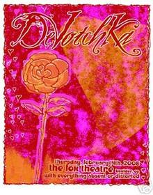 DEVOTCHKA - FOX THEATER 08 -  DENVER - POSTER - KUHN