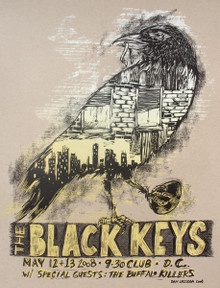 THE BLACK KEYS - 9:30 CLUB - 2008 - WASHINGTON DC - DAN GRZECA