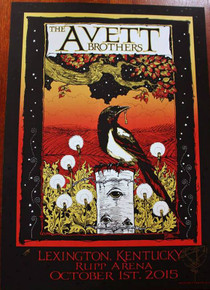 THE AVETT BROTHERS - 2015 - LEXINGTON - RICHARD BIFFLE - ARTIST PROOF