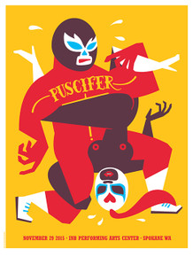 PUSCIFER - TOOL - 2015 - INB ARTS CENTER - SPOKANE - DAN STILES - MONEY SHOT