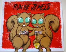 RUN THE JEWELS - HOUSTON - 2015 -  JERMAINE ROGERS - ARTIST PROOF -  HOUSE OF BLUES