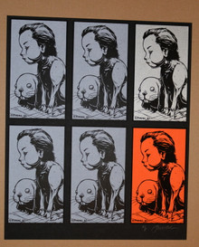 JERMIANE ROGERS - SQUIRE UNCUT CARD SET - ARTIST PROOF