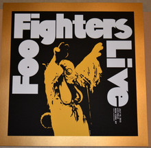 FOO FIGHTERS - CITI FIELD - NYC - JERMAINE ROGERS - GOLD VARIANT