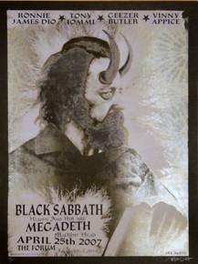 BLACK SABBATH - MEGADEATH - HEAVEN / HELL 2007 - THE FORUM - DELANO GARCIA -