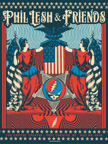 PHIL LESH AND FRIENDS - 2016 - MEMORIAL DAY - JUSTIN HELTON - CAPITOL THEATRE - PORT CHESTER