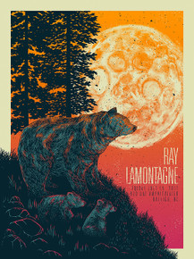 RAY LAMONTAGNE - 2016 - RALEIGH - NC- JOHN VOGL - RED HAT AMPHITHEATER