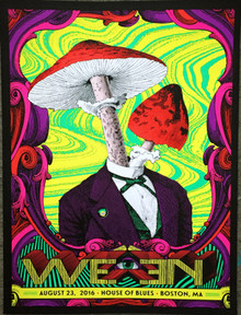 WEEN - 2016 - HOUSE OF BLUES - BOSTON - NATE DUVAL