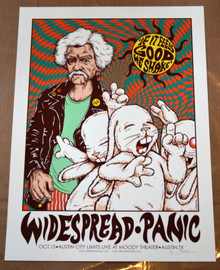 WIDESPREAD PANIC - 2014 - ARTIST PROOF - AUSTIN- JERMAINE ROGERS
