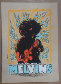 MELVINS - POSTER  - PORN - ALTAMONT -  2006- JERMAINE ROGERS -BROOKLYN