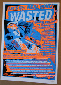 WASTED FESTIVAL - 2005 - ORANGE SHOW - SAN BERNADINO - DICKIES - EXPOLITED - COCKSPARRER