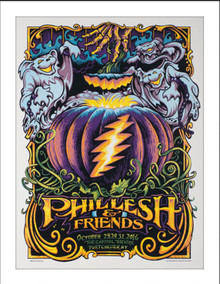 PHIL LESH AND FRIENDS  -2016  -HALLOWEEN -AJ MASTHAY - CAPITOL THEATRE - FURTHUR