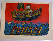 PHISH - CINCINNATI - ARTIST PROOF - DAN GRZECA - 2009 - US BANK ARENA