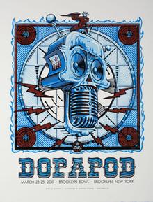 DOPAPOD - 2017 - BROOKLYN BOWL - LAS VEGAS - AJ MASTHAY - PIGEONS PING PONG