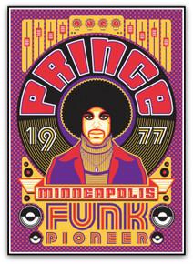 PRINCE - PURPLE RAIN - FUNK PIONEER - 1997 - MINNEAPOLIS