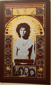 THE DOORS - LA WOMAN - ADAM POBIAK - 2016 - HANDBILL -  45TH ANNIVERSARY