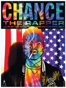 CHANCE THE RAPPER - 2015 - NEW YEARS EVE - CHICAGO - KII ARENS - POSTER