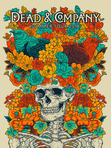 DEAD AND COMPANY - SUMMER TOUR - 2018 - JOHN VOGL - GARCIA - LESH - WEIR