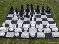 32cm Garden Chess Set