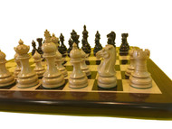 Rex Noir Paris 100mm Rosewood/Boxwood Chess Pieces Only