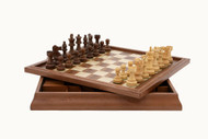 Large 3 in 1 Dal Rossi Chess, Checkers & Backgammon (46cm)