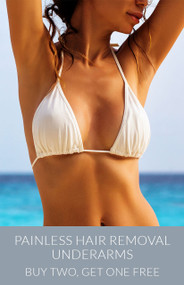 March Painless Hair Removal - Under Arms - Buy Two, Get One Free