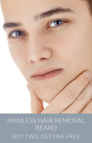 March Painless Hair Removal - Beard - Buy Two, Get One Free