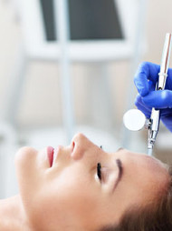 Express Oxygen Infusion for clearing pores and rejuvenating dull, problematic skin