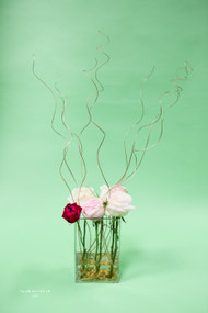 Garden Rose Tall Centerpiece