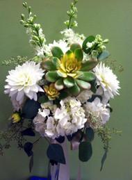 Succulant Bridal Bouquet