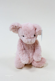 Bashful Piggy brought to you by Jelly Cat, the best plush animals for kids babies and all around.