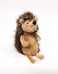 Trundling in with a big, cheesy grin, it's happy chappy Spike Hedgehog! He's the softest scamp with a cosy pot belly and fluffy two-tone spines. With a super suedey bobble nose, bright black eyes and scruffable ears, he might be a prankster, but he's tubby with love. Time for some forest fun!