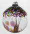 3 inch Kitras Glass Ball in multi decorative colors.