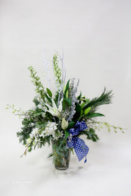 Let It Snow Vase Arrangement