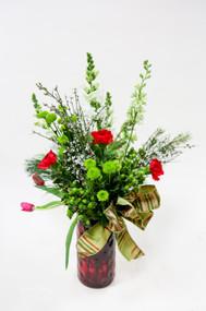 Holiday Flower Arrangements| Fresh Flowers| Loveland Florist| Loveland Flowers| Earle's Flowers|
