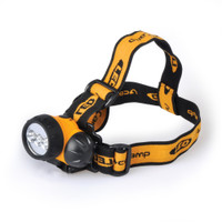 Headlamp, 3 lighting modes, bright, lightweight, camping, backpacking, caving, batteries included