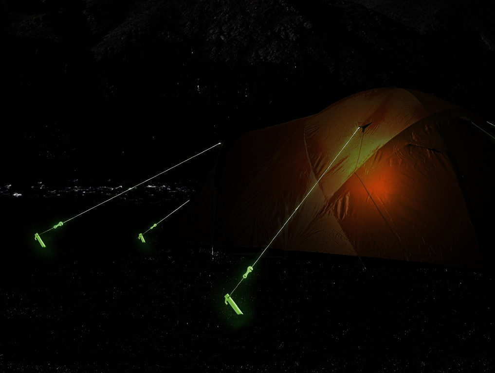 Rope, Glow-in-the-Dark, polypropylene, Tent accessories