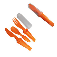 Compact Cutlery Set, Knife, Fork, Spoon, BPA free