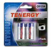 Tenergy Lithium CR123A 3v 2 pack****
