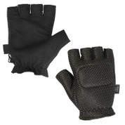 Gloves - V-TAC Half Finger Padded Back-L